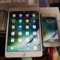 ipone ipadを購入した。