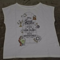 ユニクロ 『美女と野獣』のTシャツ