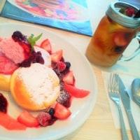 Butter Premium の スフレパンケーキ