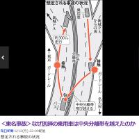 東名高速事故で乗用車が飛んできて衝突されたバスの、運転手と乗客に死者が出なかった原因