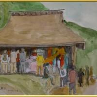 農村歌舞伎舞台  (3) [740]