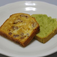 クルミとキャラメルクリームのパウンドケーキと抹茶のパウンドケーキの感想と反省