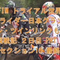 2016 FIM トライアル世界選手権 ストライダー日本グランプリ イン・ツインリンクもてぎ 観戦記 2日目 PRTⅣ  セクション 10 最終章  ブログ&動画
