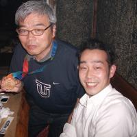 日本競泳界のトップスイマー2人と会食・・・。
