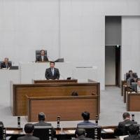 鈴木将県議の一般質問を傍聴しました。