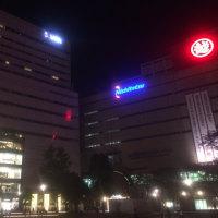 福岡の夜。