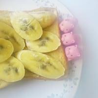 バナナトーストと子ブタちゃん(banana toast and  pigs)