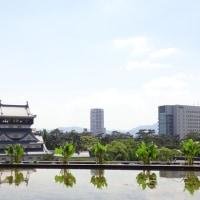 小倉城と市庁舎