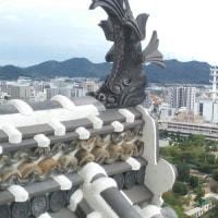 姫路城…。