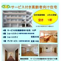 サービス付き高齢者向け住宅の空き情報