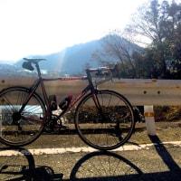 今年初ライドは津久井湖周回からスタート!