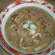 鶏ガラ煮干中華