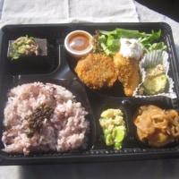 熊野で初お弁当の配達です!