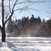 雪と光の成せる、ビュー
