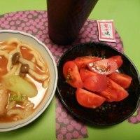 土鍋味噌@芝安 と 白菜のあんかけ