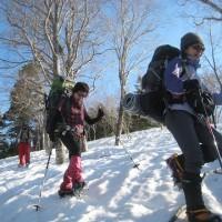 尾瀬・平ヶ岳と景鶴