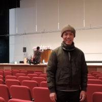 超ビッグイベント前の日 worked at hall for coming-of-age celebration ceremony of tomorrow