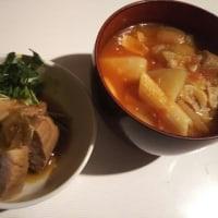 ユリママご飯★角煮と食べるトマトスープ