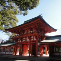 来たぞ!「武蔵一宮 氷川神社」 (その3) 本殿周辺は人がいっぱい