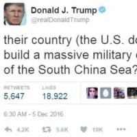 【米政権交代】トランプ氏、ツイッターで中国に不満連投