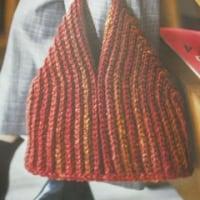 バッグ編みあがりました(手仕事P2)