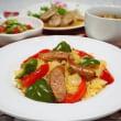 ☆簡単カレーピラフ&鶏むね肉のハニーマスタード☆