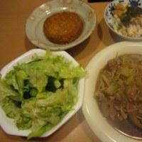 豚と白菜とえのきの煮物など«今からこんなに手抜きでいいかしら»:平日ディナー【4/4】