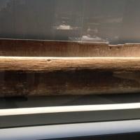 およそ2800年前の独木船
