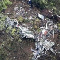 自衛隊機が北海道で墜落し高宮城効1等陸尉(53)等の4人全員死亡