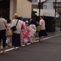 松本の夏の行事『ぼんぼん』