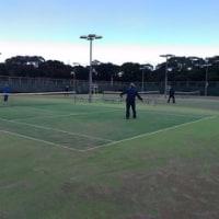 今日はテニス三昧でしたね!!