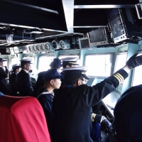 米潜水艦との遭遇〜護衛艦「あきづき」体験航海