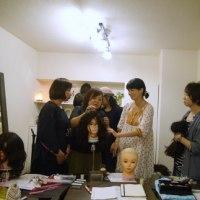 美容師のための医療用ウィッグの技術講習会でした