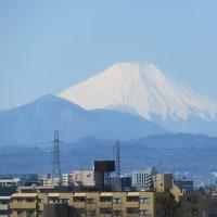 2月21日の富士山!