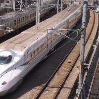 浜松町でN700系にトライ