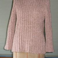桜色のセーター