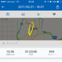 ジョギング記録・34