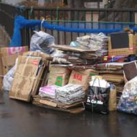 資源ゴミの回収、ご協力ありがとうございます。