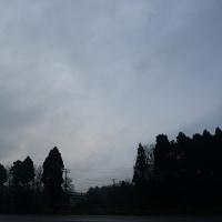3月29日、午前6時過ぎの空模様