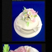 デイジーのリボンケーキ