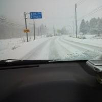 雪道・運転・・・