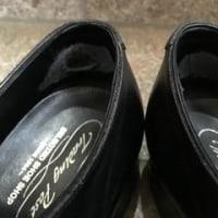 革靴 腰裏の傷み