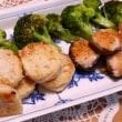 牛丼&蓮根の海老すり身はさみ焼き