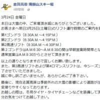 今週末の志賀高原の天気は,土曜は晴れ!日曜は曇りのち雪…そして,現在のSkiline順位を見て気づいたこと