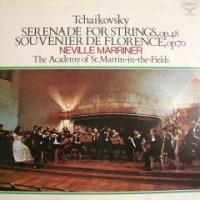 ◇クラシック音楽LP◇ネヴィル・マリナーのチャイコフスキー:「弦楽セレナード」「フローレンスの思い出」