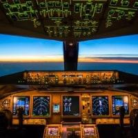 【6/26、7/10、24、8/14、28】現役パイロットが指導!ボーイング777-300ERフライトシミュ