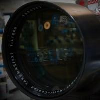 ペンタックスの昔のレンズ  6×7用の800mm