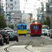 あべの筋界隈の路面電車