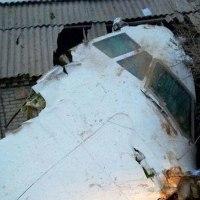 トルコの貨物機がキルギスで墜落、村を直撃!