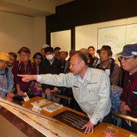 素晴らしかった四條畷市立歴史民俗資料館、野島館長さんのお話し~歴史は地形とともに~